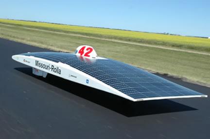 Missouri S And T Solar Car